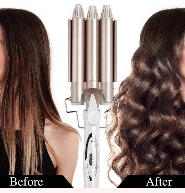 3 Barrel Curling Iron Hair Curler 3