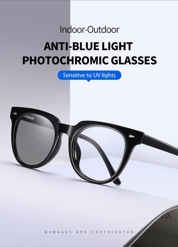 Photochromic Blue Light Blocking Glasses